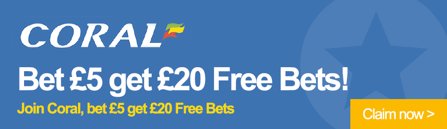 Back our free betting tip now
